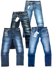 G-Star Herren Jeans Stretch 3301 RAW neu blau grauschwarzW30-36/L32-34