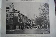 1914 Zentralblatt 27 Markthalle Stuttgart Waldecker Talsperre Waldeck Edersee