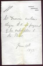 1892 CRESKELD HALL, Leeds (Emmerdales Home Farm)  Mrs Darwin, Re  Inverness Show