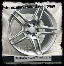 19 inch silver Mercedes AMG OE factory replica wheels ML350 500 5x112 +40 (1x)