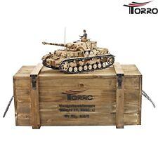 TORRO RC Panzer 4 - PzKpfw IV. Ausf. G BB Schuß- Sound- & Rauchfunktion 2.4 GHz