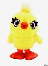 "Disney Pixar Toy Story 4 Ducky Huggable Plush Approximately 10"" Yellow Duck"