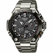 NEW Casio G-Shock MRGG1000D-1A MR-G GPS Atomic Solar Hybrid Titanium Watch