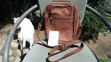 Scully 805-17 Brown Leather Cross Body/ Shoulder Bag