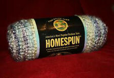 HOMESPUN yarn knit crochet LION TUDOR 315 cream rose teal green bulky variegated