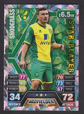 Match Attax 2013/14 - Star Player - 229 Robert Snodgrass - Norwich