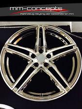 19 Zoll Felgen Audi A3 S3 A6 TT VW Golf 5 6 7 GTI R Mercedes AMG Concave Chrom