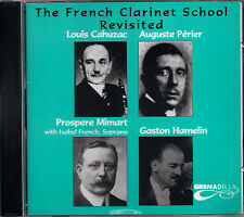 Various Artists - The French Clarinet School Revisited - RARE Oop NEW CD