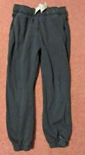 Pretty F & F navy JOGGING BOTTOMS - grey waist ties 8-9 years- Excellent