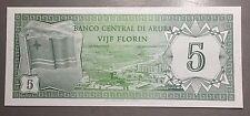 ARUBA 1986 5 Florin P-1   BANCO CENTRAL DI ARUBA VIJF FLORIN  A