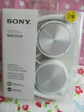 Sony MDR-ZX310 Wired On-ear White Headphones Genuine Sealed Pack