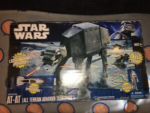 Star Wars AT-AT Walker In box 2010 LEGACY COLLECTION Hasbro Electronic AT AT