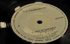 Lon Vane choir Land of our birth Isle of Man National Anthem vintage recording