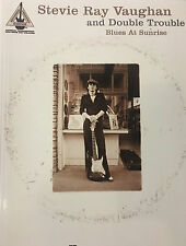 """""""Blues At Sunrise""""   by Stevie Ray Vaughan And Double Trouble  guitar tab book"""
