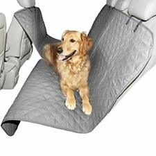 Dog Pet Car Seat Cover Protector Hammock For Cat Pet Back Rear Bench Pad Gray