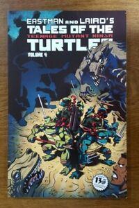 Tales of the Teenage Mutant Ninja Turtles Vol. 4 TPB OOP NEW IDW 2014 Eastman