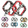 ROCKBROS Aluminum Alloy Mountain Bike Cycling Pedals  MTB Sealed Bearing Pedals