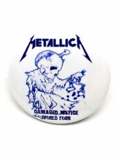 METALLICA - Damaged Justice  Tour 1998 - Button - And Justice For All - Pins