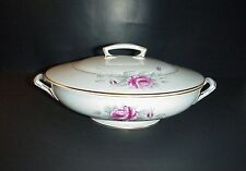 Royal Worcester Z2261 Worcester Rose Vegetable Bowl Antique 1900s Signed SEDGLEY