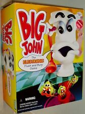 BIG JOHN 1994 Parker Brothers Electronic Flush And Burp Toilet Board Game