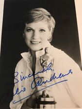 Julie Andrews SIGNED Stunning PHOTO COA JSA Autograph