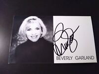 Signed Autographed /'To Mike/' Glossy 8x10 Photo d. 2008 Beverly Garland COA Matching Holograms