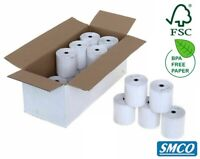 INGENICO iWL250 WORLDPAY PDQ THERMAL ROLLS Credit Card Receipt Paper BY SMCO