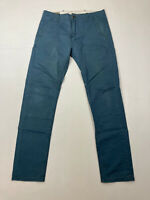 LEVI'S CHINO Trousers - W30 L32 - Teal - Great Condition - Men's