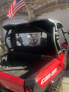 CanAm COMMANDER 1000 and 800 DPS REAR WINDOW/DUST BARRIER