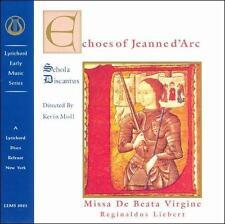 Echoes of Jeanne d'Arc: Missa de Beata Virgine; Liebert 1996 CD, Early Music, Sc