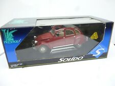 Citroën 2CV6 Charleston 1982 - 1:18 - Solido  Brand New Rare