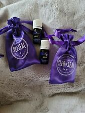 Young Living Essntial Oils Lot Loyalty Qty 2 Sealed with bags .5ml each