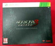 Ninja Gaiden 3 Edicion Coleccionista - XBOX 360 - USADO - MUY BUEN ESTADO