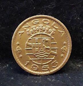 1953 Portuguese Angola (Colony) 50 centavos, KM-75                          /N59