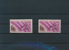 LM18991 Central Africa perf/imperf satellite rocket space fine lot MNH