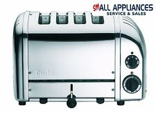 DUALIT TOASTER 4 SLICE NEWGEN POLISHED STEEL 47000 WITH 5 YEAR WTY IN HEIDELBERG