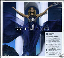 KYLIE MINOGUE - APHRODITE 2010 EU CD + DVD EXPERIENCE EDITION DIGIBOOK SEALED