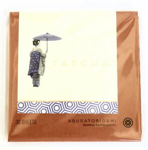 TATCHA Aburatorigami JAPANESE BEAUTY PAPERS 30 Sheets  NEW SEALED FREE FAST SHIP