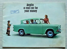 FORD ANGLIA Saloon & Estate Car Sales Brochure June 1962 #65093/CD75/100M/662