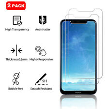 2-Pack For Nokia 8.1 Clear Tempered Glass Screen Protector