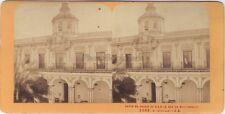 Espagne Seville Sevilla Palais Duc Montpensier Photo J. Andrieu Stereo albumine