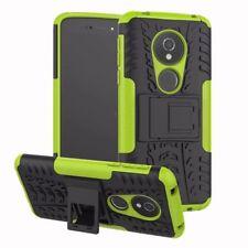 pour Motorola Moto G6 JOUER / E5 Etui Hybride 2 Pièces Extérieur Vert