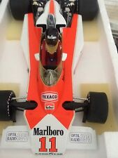 James Hunt 1/18 M23 Marlboro McLaren British Gp 76 full Detail