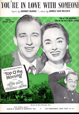 "TOP O' THE MORNING Sheet Music ""You're In Love With Someone"" Bing Crosby"