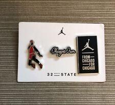 Air Jordan Chicago Pin Set From 32 South State Street Homage To Home Jordan 1
