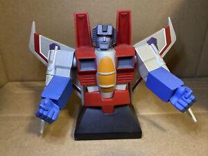 Starscream Artist Proof 776/5000 Hard Hero Bust Transformers Limited