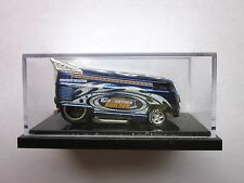 HOT WHEELS LIBERTY PROMOTIONS - BLUE COLLECTION BUILDER VW DRAG BUS - 198/1300