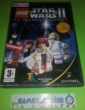 LEGO STAR WARS II THE TRILOGY ORIGINAL PC CD-ROM PAL