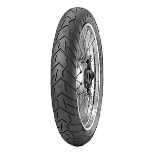 120/70ZR-17 (58W) Pirelli Scorpion Trail II Front Motorcycle Tire For Aprilia