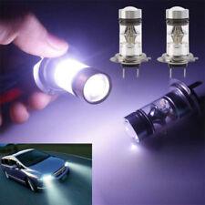 2× H7 100W LED WHITE 6000K CAR TRUCK BULBS DRL LIGHT LAMP CANBUS ERROR FREE SG